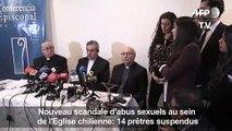 Chili: 14 prêtres suspendus dans une affaire d'abus sexuels