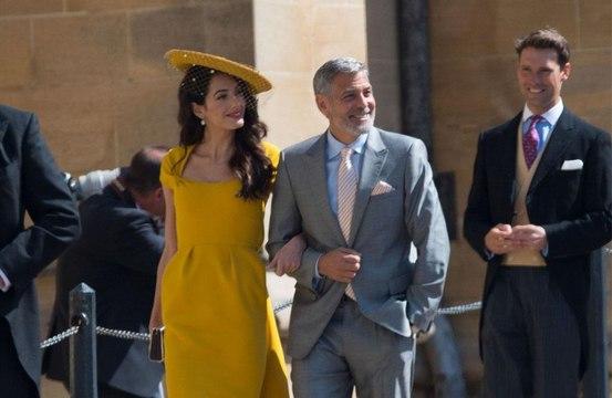 George Clooney yeni prensesi dansa kaldırdı!