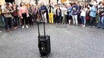 Concentració de suport a Valtònyc a la plaça de Sant Jaume de Barcelona