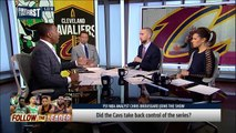 Chris Broussard on why Boston Celtics control the series vs LeBron's Cavs   NBA   FIRST THINGS FIRST