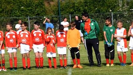 Entrée et présentation joueurs finale U11 (FC Neufchâtel 1 / FC Neufchâtel 2 - le 20/05/2018)