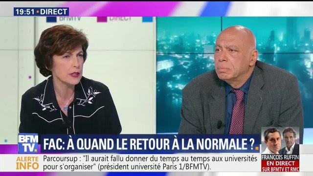 """Responsable de l'UNEF voilée: """"Nous respectons toutes les croyances et diversités"""", dit le président de Paris I Panthéon-Sorbonne"""
