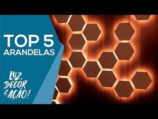 TOP 5 Arandelas na EXPOLUX 2018 - Luz, Decor & Ação!