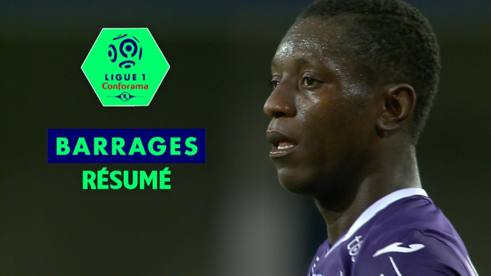 AC Ajaccio - Toulouse FC (0-3)  - Résumé - (ACA-TFC) / 2017-18