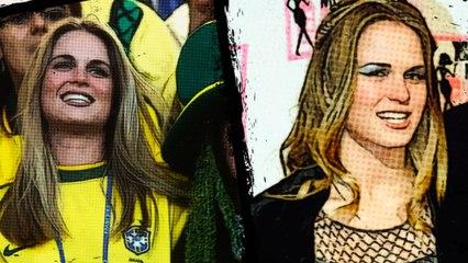 حسناء البرازيل الخائنة.. تهدي فرنسا لقب كأس العالم!