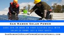 Affordable Solar Energy San Ramon CA - San Ramon Solar Energy Costs