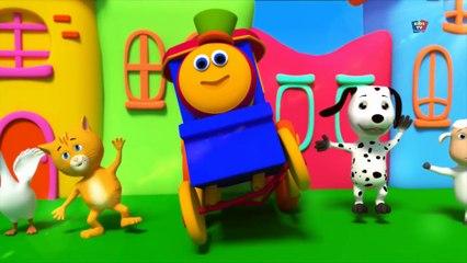 Bob le train chanson - Amitié chanson - Rimes pour enfants - 3D Rhymes - Bob Train Friendship song