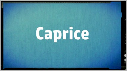 Images - Caprice Msn