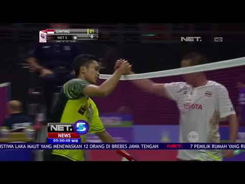 Piala Uber, Tim Uber Indonesia Sapu Bersih Perancis -NET5