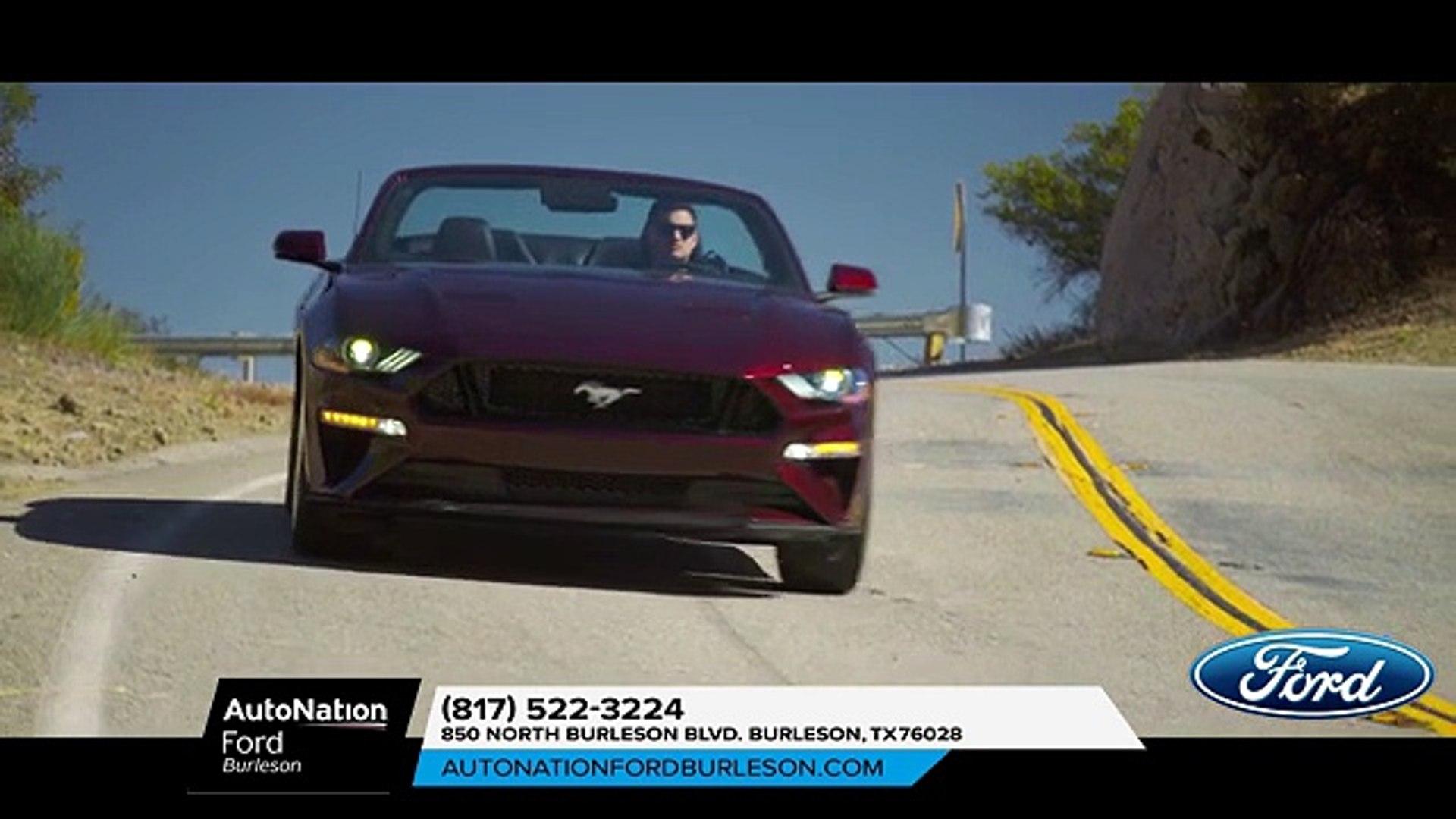 Autonation Ford Burleson >> Ford Mustang Dallas Tx 2018 Ford Mustang Dallas Tx Video