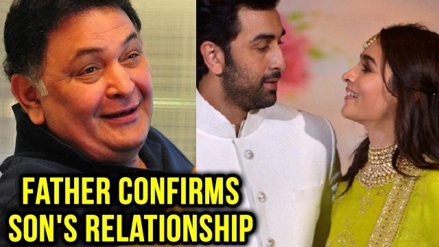 Rishi Kapoor Confirms Alia Bhatt & Ranbir Kapoor Relationship With Just One Tweet