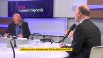 """Sortie de la France de la procédure pour déficit excessif : C'est """"la récompense des efforts que les Français ont fait"""" pour Pierre Moscovici"""