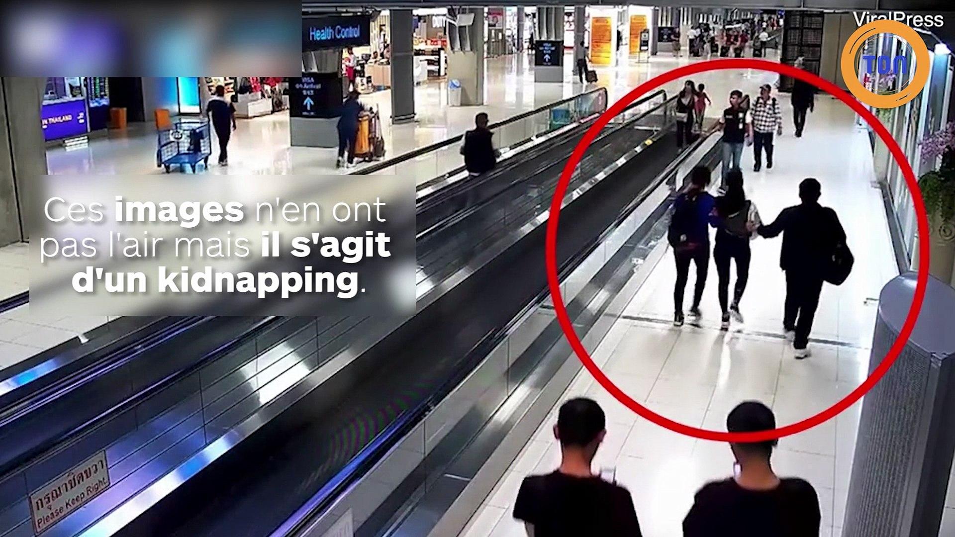 Une femme enlevée à l'aéroport de Bangkok
