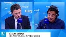 """Benjamin Griveaux sur la SNCF : """"La question du maintien de Guillaume Pépy n'est pas posée"""""""