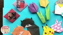 Best 5 Minute Crafts - 5 Quick & Easy Origami Projects - Easy Origami DIYs