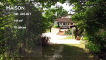 QUERCY - PROCHE BOURG DE VISA  - Maison en pierre avec 4 chambres, piscine et belles vues