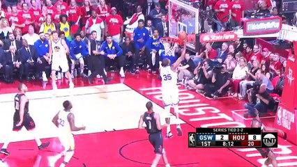 Paul (20 sayı) ve Curry'nin (22 sayı) Houston'daki 5. maç kapışması!