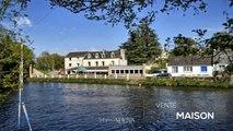 MORBIHAN – Vallée du Blavet – Bar/Restaurant à vendre au bord de la rivière