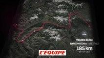 Le profil de la 19e étape (Venarial Real - Bardonecchia) - Cyclisme - Giro