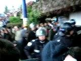 Répression à la fac de Lyon 2 Bron 05/12/07 #1