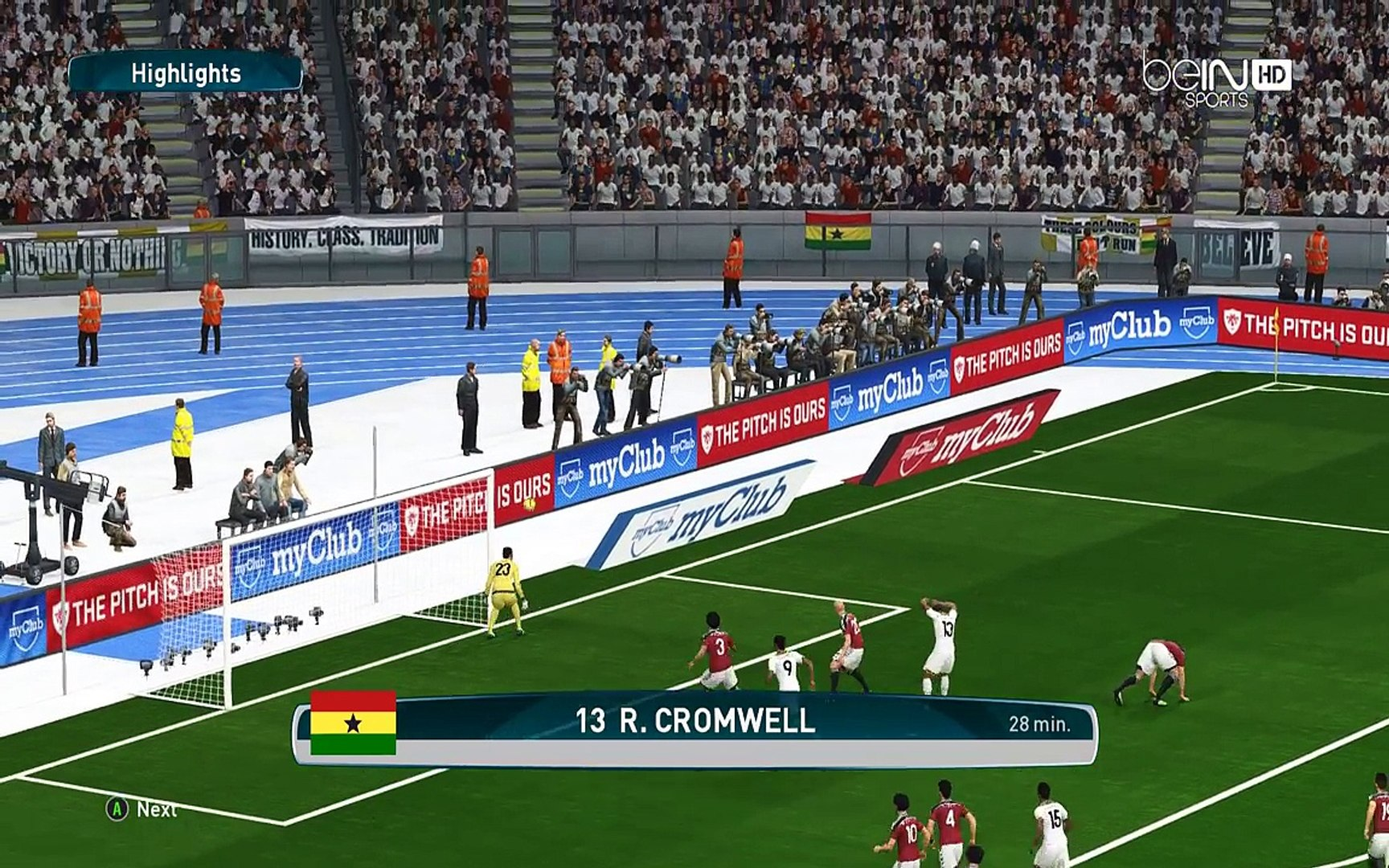 Egypt vs Ghana | FIFA World Cup Russia 2018 Qualifiers | PES 2017 Gameplay PC