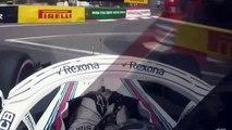 Sergey Sirotkin na treningu przed GP Monaco