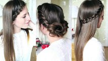 3 Quick and Easy Heatless Hairstyles   Pretty Hairstyles   Braidsandstyles12