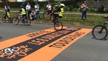 300 écoliers sur le futur parcours du Tour de France