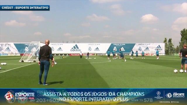 Le golazo de Modric grâce à une passe caviar de Zidane