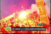 """Ate, La Molina y el Club Universitario de Deportes buscan acabar con """"Barras Bravas"""""""