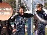 Messi et Neymar s'entraînent avec leurs équipes nationales