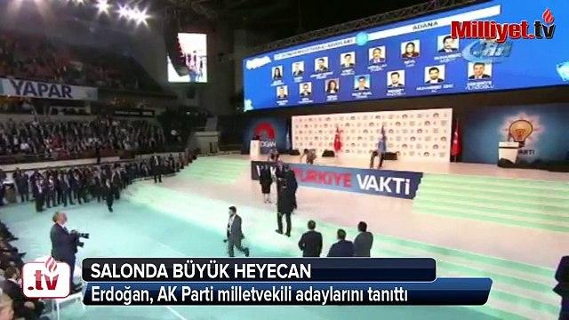 Cumhurbaşkanı Erdoğan, AK Parti milletvekili adaylarını tanıttı