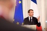 Conférence de presse conjointe du Président de la République, Emmanuel Macron et de Vladimir Poutine à Saint-Pétersbourg