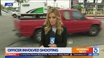 Officers Met With Gunfire While Conducting Gang Sweep n Southern California