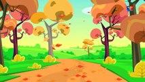 Chansons d'automne - d'automne Comptine - Chanson enfants - Learn Season - Kids Rhyme - Autumn Songs