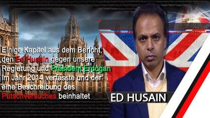 """Einige Aussagen von Ed Husain über seine Person """"Allah, der Islam, der Koran und alle Muslime sind von den folgenden Äußerungen ausgenommen"""""""
