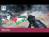 Palestinians killed in embassy and Gaza protests