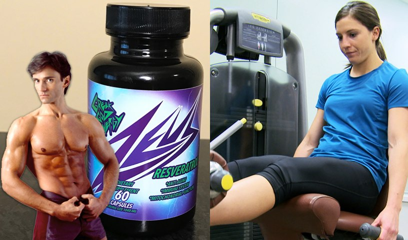 RESVERATROL HEALTH SUPPLEMENT & GET FIT FOR LIFE   Fit Now with Basedow