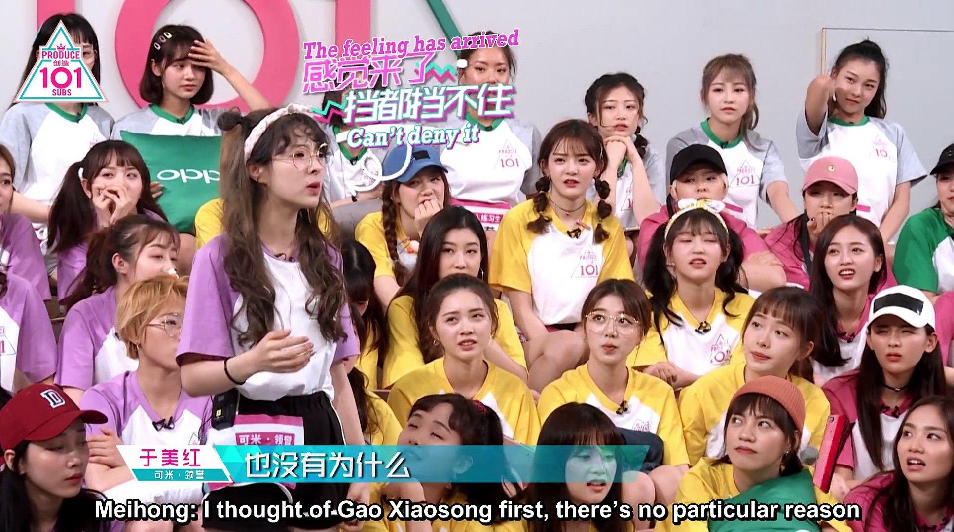 [ENG SUBS] Produce 101 China Episode 5 Part 2/2
