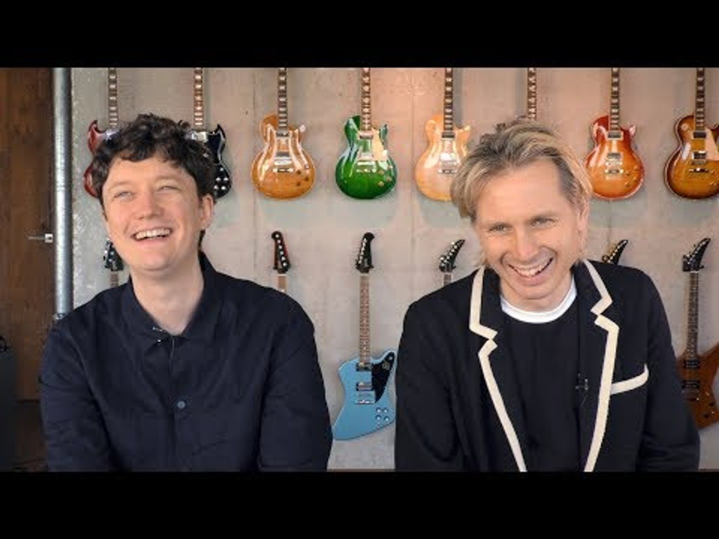 Franz Ferdinand interview - Alex Kapranos & Julian Corrie (part 1)