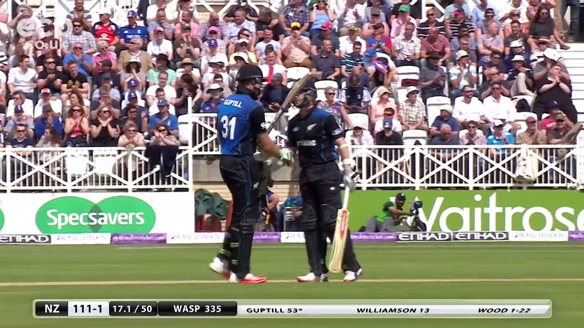 England's Highest Successful ODI Run Chase: England v New Zealand 4th ODI 2015 - Extended Highl