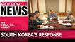 "S. Korea's Moon ""baffled, perplexed"" by Trump's cancellation of Singapore Summit with N. Korea's Kim Jong-un"