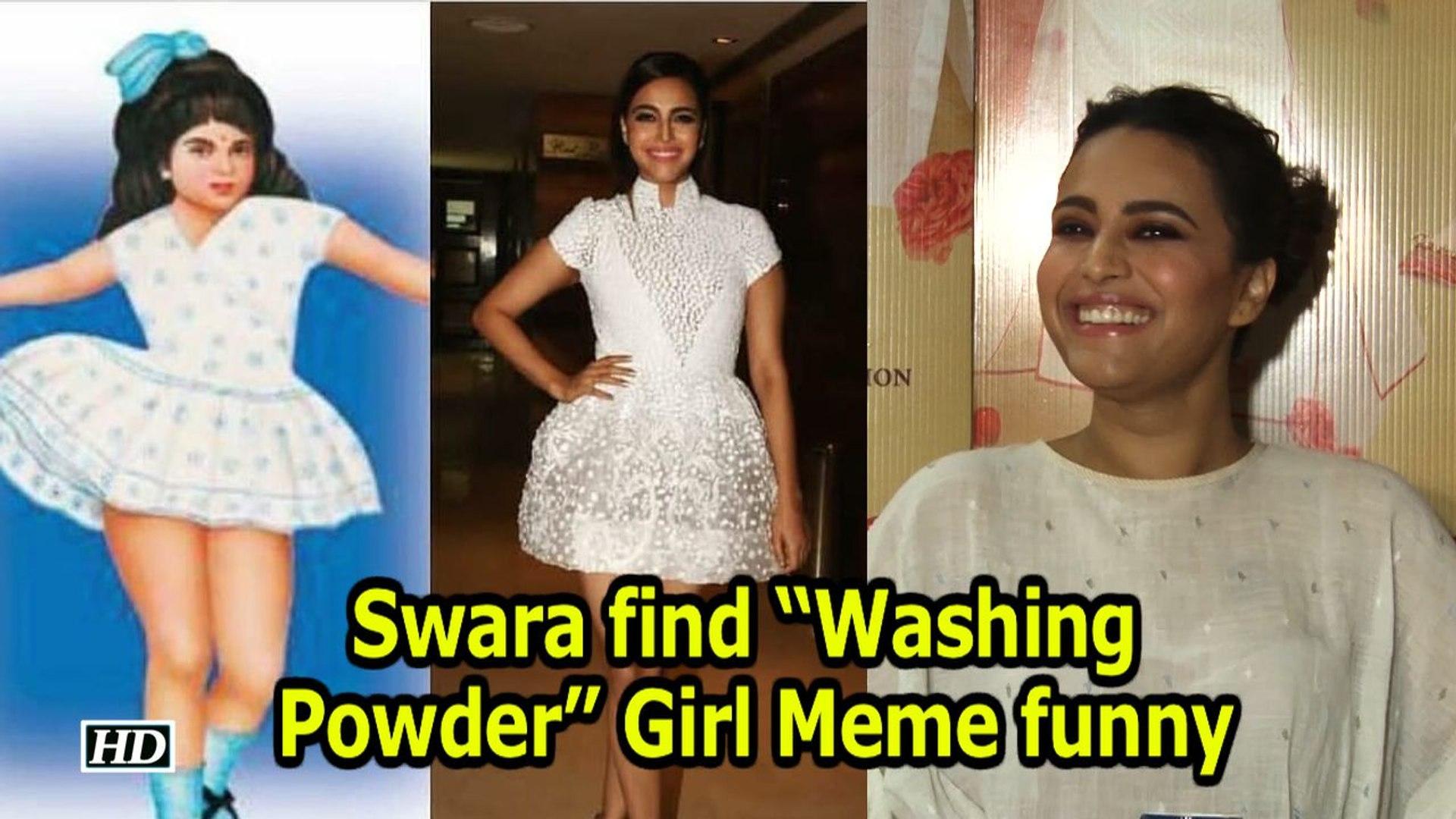 """Swara find """"Washing Powder"""" Girl Meme funny"""
