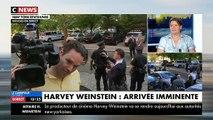 Regardez les images de l'arrivée d'Harvey Weinstein au commissariat de New York - VIDEO