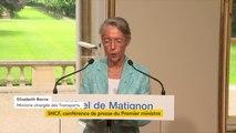 """#SNCF : """"Nous avons démontré une nouvelle fois que le dialogue social est toujours utile puisque nous avons repris plusieurs propositions syndicales, notamment la garantie de l'incessibilité de la SNCF"""", assure la ministre des Transports Elisabeth Borne"""