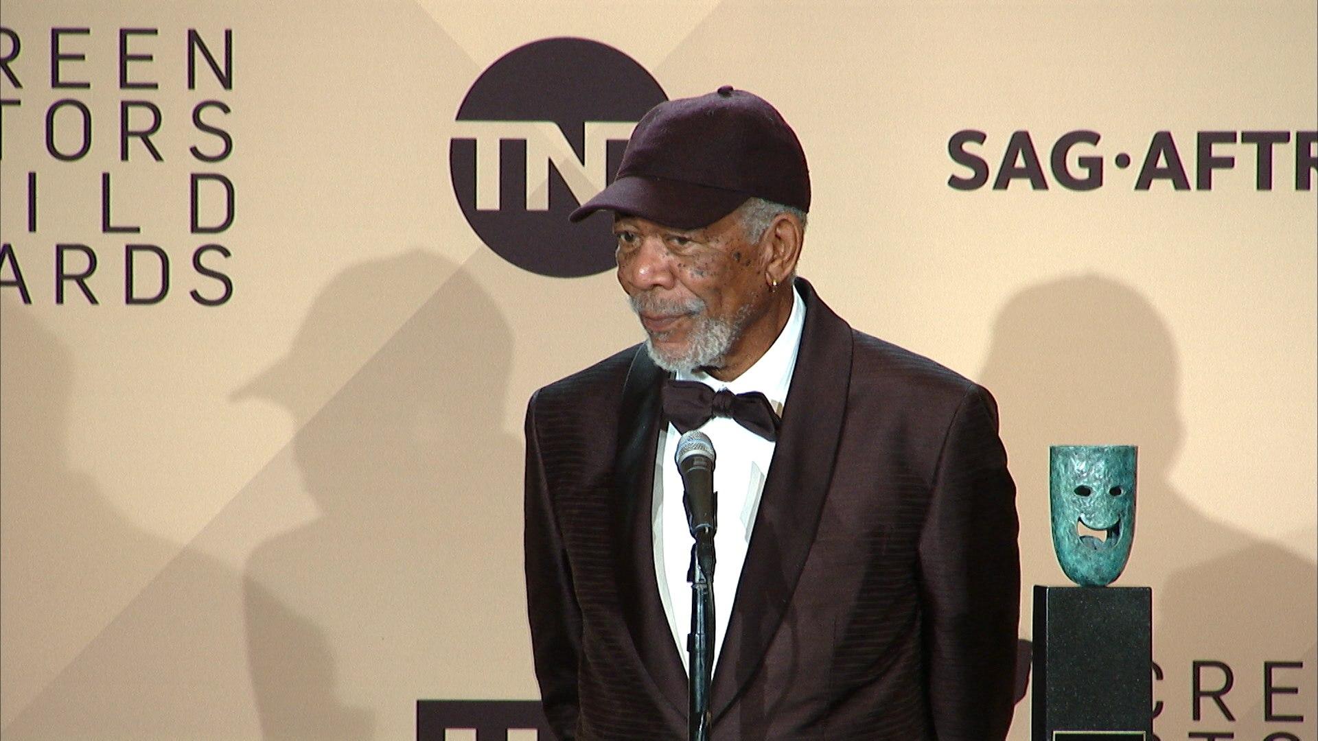 Accusé de harcèlement sexuel, l'acteur Morgan Freeman s'excuse!