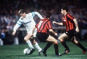 OM-AC Milan   1993   Chris Waddle joins OM training