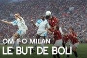 OM 1-0 Milan   Le but de Basile Boli