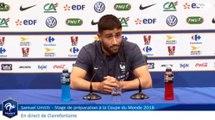 Sport : Nabil Fékir en conférence de presse 25/05/2018 [Equipe de France]