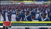 Venezuela: presidente Maduro sostiene encuentro con la FANB